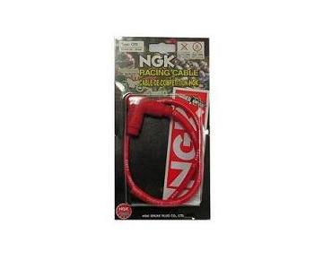 CABLE DE COMPETITION CR6 NGK ANTIPARASITE COUDE