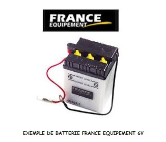 BATTERIE FRANCE EQUIPEMENT 6N11A-4A