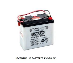 BATTERIE KYOTO 6N4B-2A-3