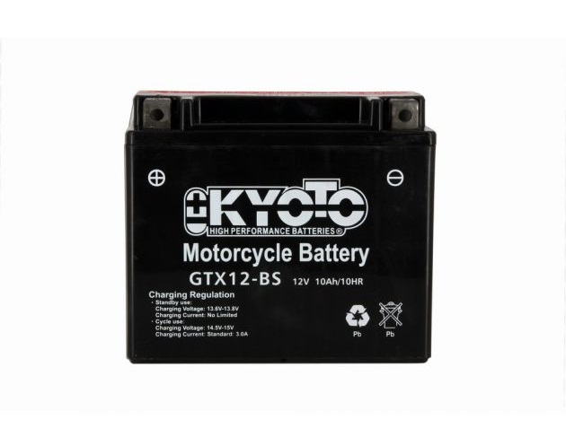 BATTERIE KYOTO YTX12-BS GTX12-BS