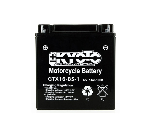 BATTERIE KYOTO YTX16-BS-1 GTX16-BS-1