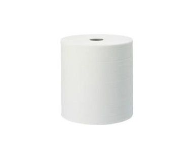 BOBINE PAPIER ESSUIE MAINS BLANC ROULEAU 300M MADE IN FRANCE