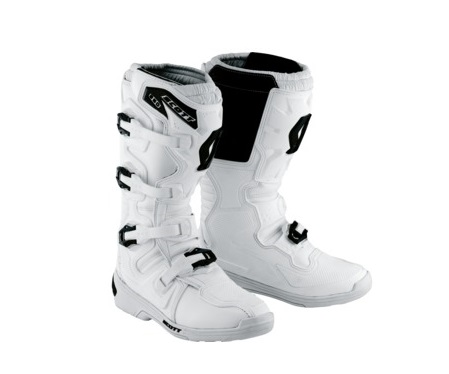 BOTTES CROSS SCOTT 350 MX BOOT BLANCHES