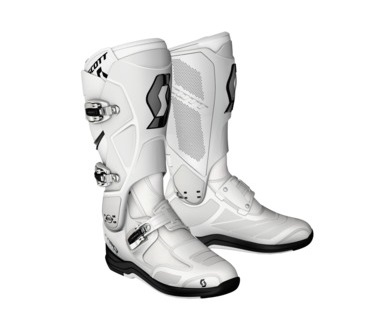 BOTTES CROSS SCOTT 550 MX BOOT BLANCHES