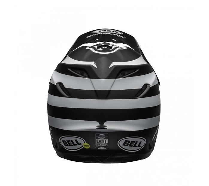 CASQUE CROSS BELL MOTO-9 MIPS FASTHOUSE SIGNIA MATTE BLACK/CHROME