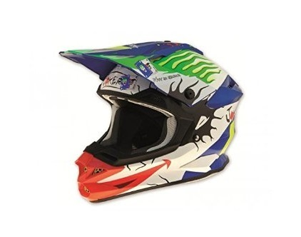CASQUE CROSS UFO INTERCEPTOR II JOKER GRAPHIQUE