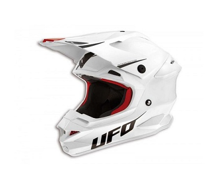CASQUE CROSS UFO INTERCEPTOR PRIME BLANC