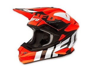 CASQUE CROSS UFO INTERCEPTOR II RED DEVIL ROUGE