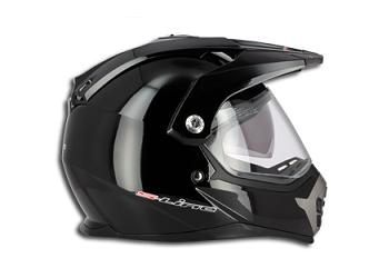 CASQUE ENDURO S-LINE AIR PUMP S610 NOIR BRILLANT