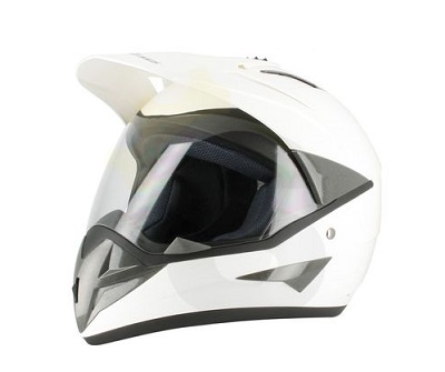 CASQUE ENDURO S-LINE S650 BLANC BRILLANT