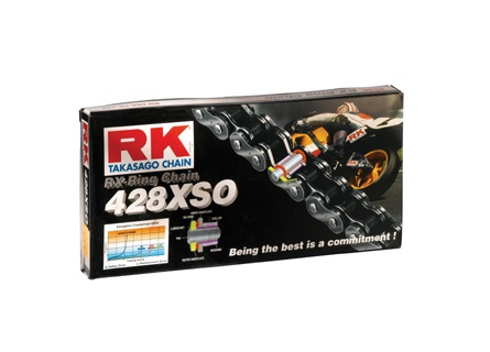 CHAINE RK 428 XSO RX'RING SUPER RENFORCEE
