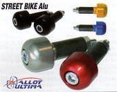 EMBOUTS DE GUIDON STREET BIKE ALU OR
