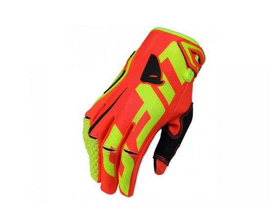 GANTS CROSS UFO BLAZE ROUGE/JAUNE