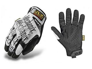GANTS MECHANIX ORIGINAL VENTILE BLANC OU NOIR