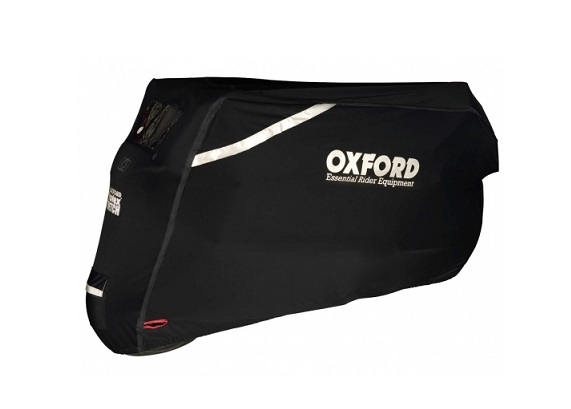 HOUSSE DE PROTECTION EXTERIEUR MOTO/SCOOTER OXFORD PROTEX STRETCH NOIR