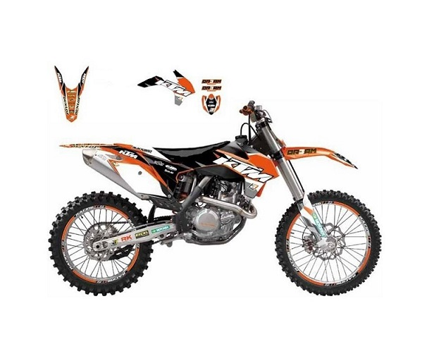 KIT DECO BLACKBIRD DREAM GRAPHIC III KTM SX/SX-F 2001-2004 / EXC/EXC-F 2003-2004