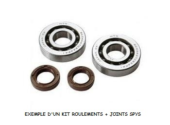 KIT ROULEMENTS DE VILEBREQUIN ET SPYS TOP PERFORMANCES TYPE ORIGINE KYMCO 50 2 TEMPS