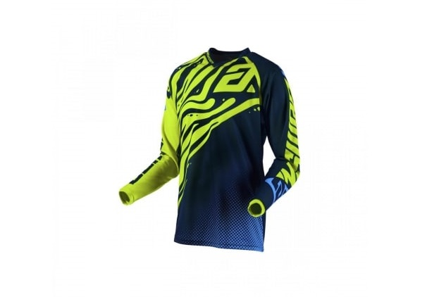 MAILLOT CROSS ANSWER SYNCRON FLOW HYPER ACID/MIDNIGHT/ASTANA