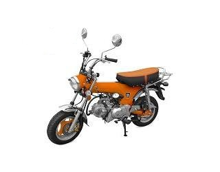 MINI MOTO TNT MOTOR CITY 4 TEMPS  50CC ORANGE EURO 4