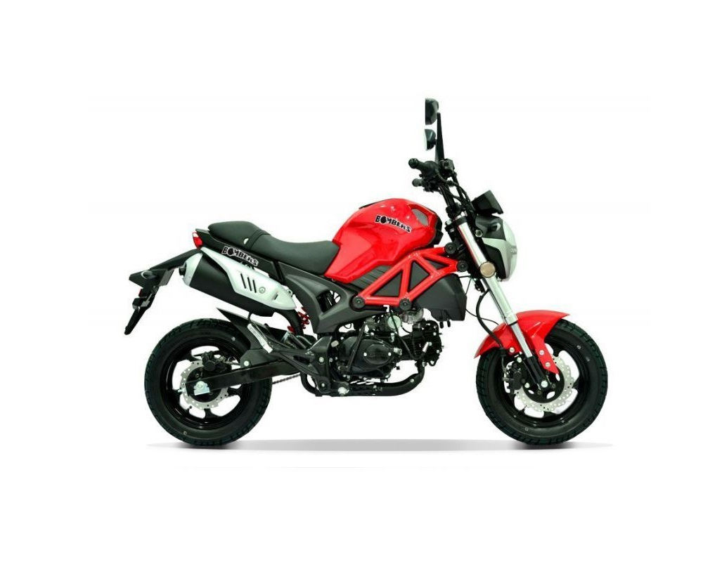 MINI MOTO MAGPOWER BOMBERS 4 TEMPS  50CC ROUGE EURO 4