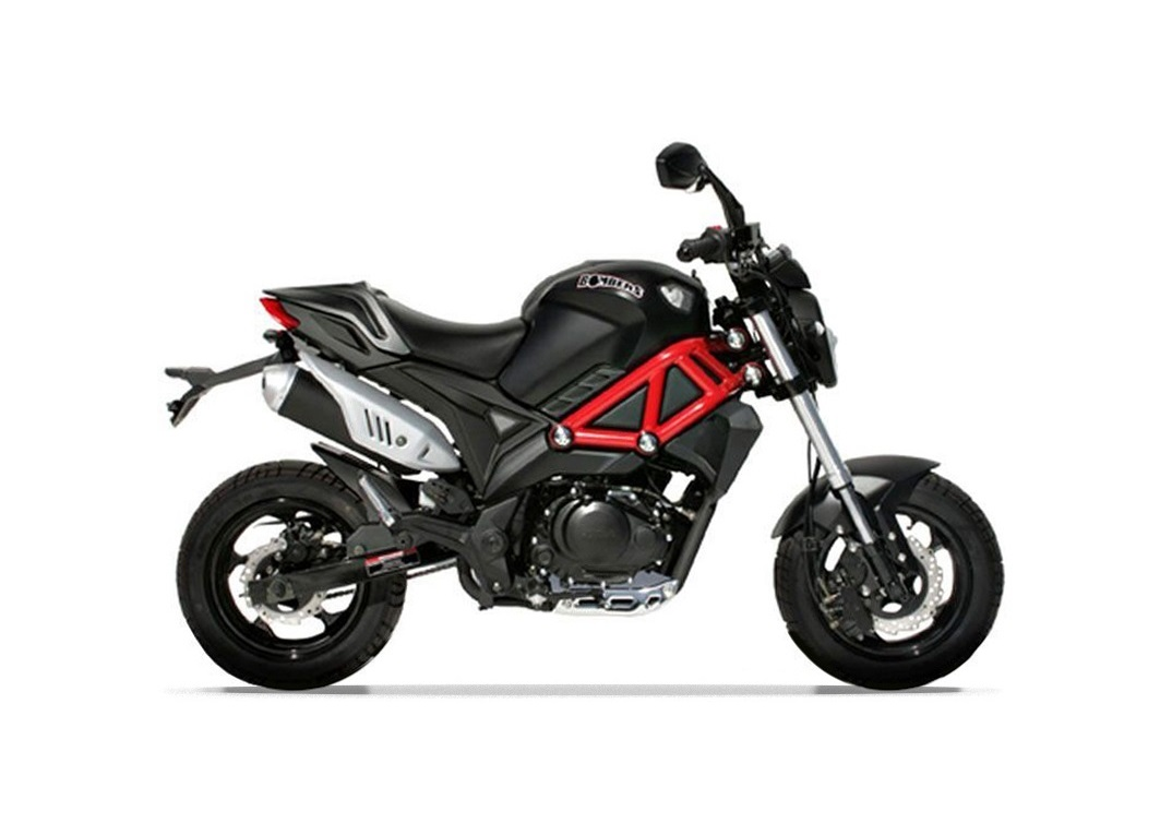 MINI MOTO MAGPOWER BOMBERS 4 TEMPS 125CC NOIR BRILLANT EURO 4