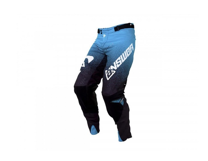 PANTALON CROSS ANSWER TRINITY NOIR/ASTANA/BLANC