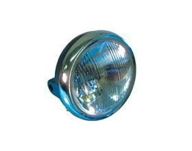 PHARE ROND CHROME CB250N