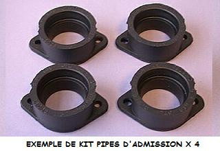 KIT PIPES D�ADMISSION HONDA  600 CBRF 1999-2000