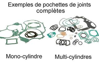 KIT JOINTS MOTEUR COMPLET YAMAHA  650 XVS DRAG STAR 1997-2007