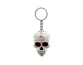 PORTE CLES LETHAL THREAT DAY OF THE DEAD SKULL