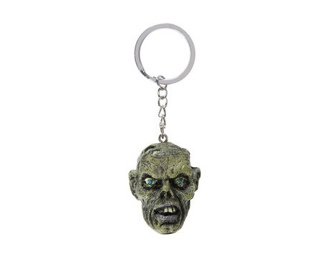 PORTE CLES LETHAL THREAT ZOMBIE SKULL