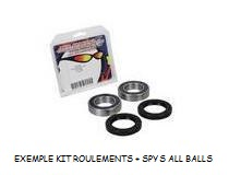KIT ROULEMENTS DE ROUE AV AVEC JOINTS SPY ALL BALLS 776137