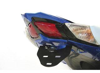 SUPPORT DE PLAQUE R&G RACING SUZUKI 1000 GSXR 2009-2013