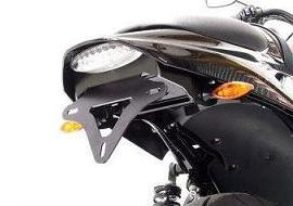 SUPPORT DE PLAQUE R&G RACING HARLEY DAVIDSON 1200 XR 2009-2012