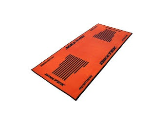 TAPIS DE GARAGE BIKETEK SERIE 3 ORANGE/NOIR 190X80CM