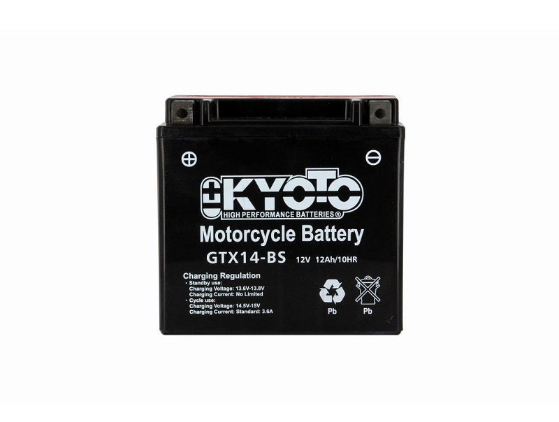 BATTERIE KYOTO YTX14-BS GTX14-BS