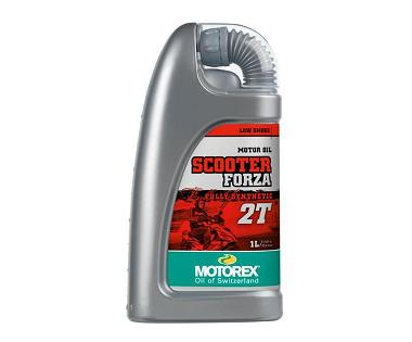 HUILE 100% SYNTHETIQUE MOTOREX SCOOTER FORZA 2 TEMPS 1L