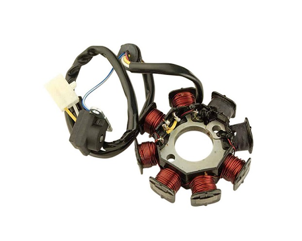 STATOR ALLUMAGE TEKNIX SCOOTER CHINOIS 50 GY6 4 TEMPS / KYMCO/PEUGEOT 50 AGILITY/KISBEE/V-CLIC 4 TEMPS