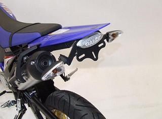 SUPPORT DE PLAQUE R&G RACING YAMAHA 125 WR R/X 2009-2013
